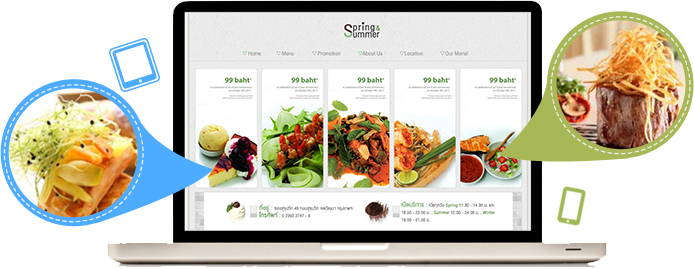 Restaurant Website Design Development Packages Wide